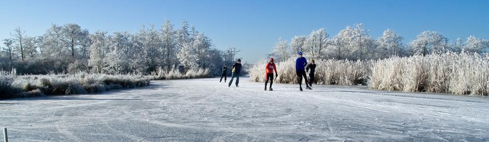 """Doe mee en kom schaatsen in het gebied van het """"DUIZEND EILANDEN RIJK"""""""